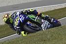 Golpe de autoridad de Valentino Rossi