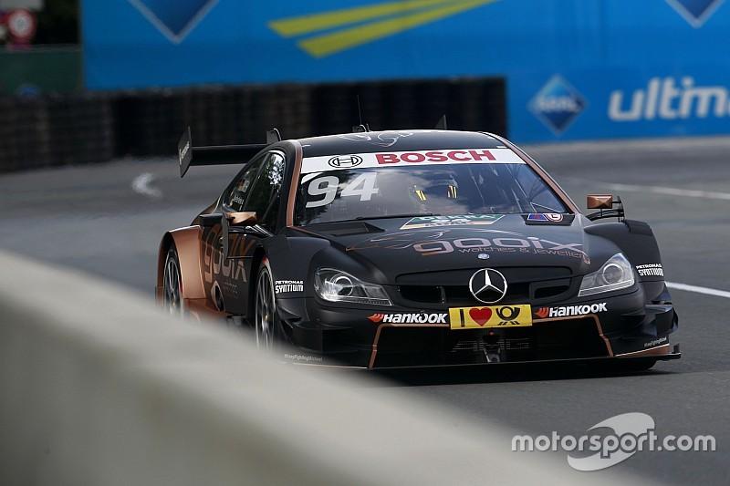 Course 1 - Wehrlein emmène un quadruplé Mercedes au Norisring