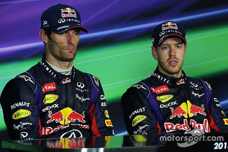 Webber - Révélations sur la rivalité avec Vettel