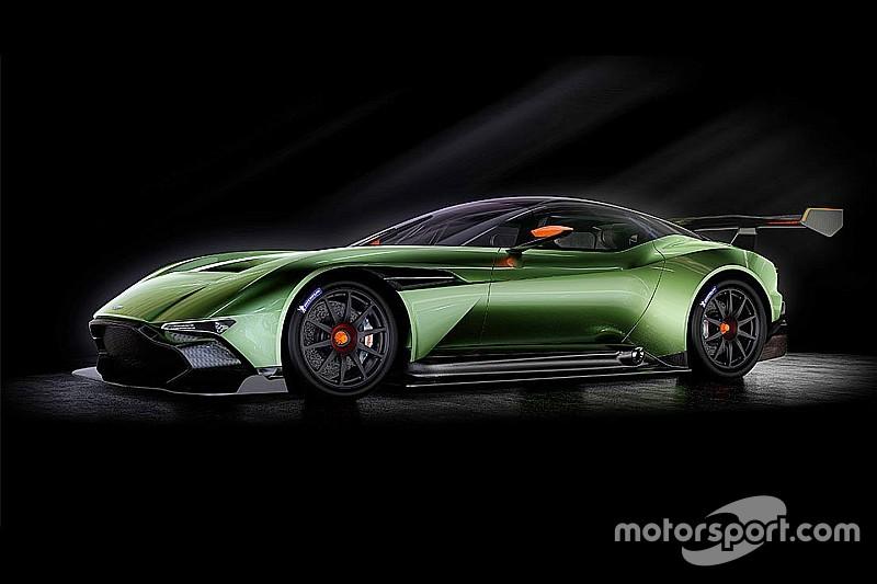 Vidéo - Le nouveau supercar Aston Martin en action!