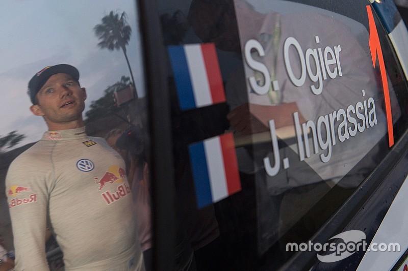 ES1 - Sébastien Ogier premier leader devant Robert Kubica et Andreas Mikkelsen