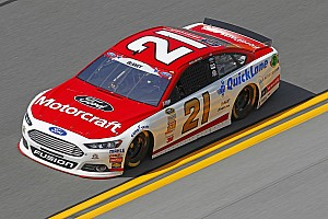 NASCAR Cup Qualifying report Luck runs out for the Wood Brothers at Daytona
