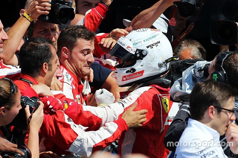 Vettel destacó la decisión de ir a los pits al momento justo