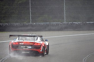 IMSA Special feature Dion von Moltke pushes through treacherous conditions at the Glen