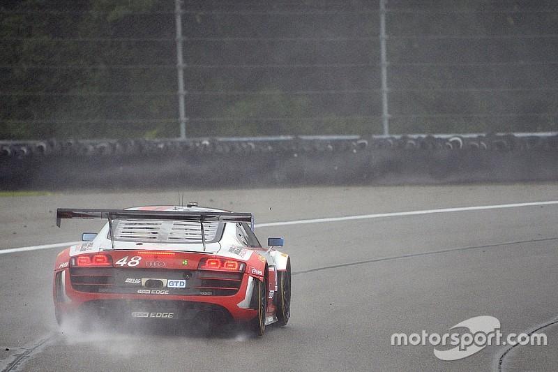 Dion von Moltke pushes through treacherous conditions at the Glen