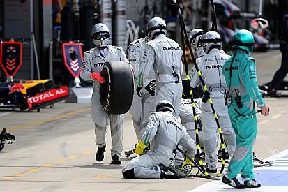 F1 teams warned over 'fake' pitstops after Mercedes trick