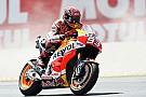 Sachsenring MotoGP: Marquez beats Rossi in first practice