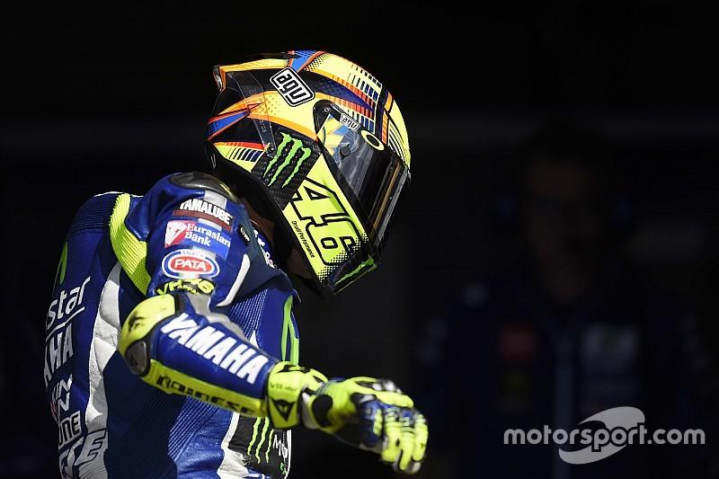 Rossi admite errores en su calificación