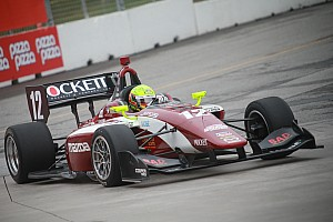 Indy Lights Qualifying report Pigot nabs Milwaukee pole with new track record