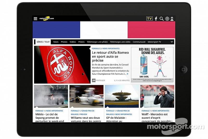 Motorsport.com acquisisce ToileF1.com,  sito No.1 sul motorsport francese