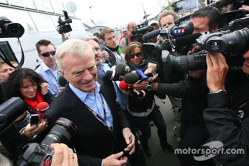 Max Mosley voulait quitter la FIA en 2005