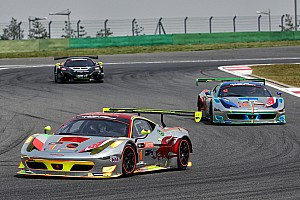 GT Preview GT Asia:  Vilander on track at Fuji with Mok