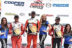 Indy Lights Ultime notizie Prima vittoria di Felix Serralles a Milwaukee
