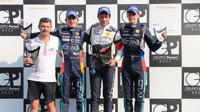 Primo centro di Thiago Vivacqua in gara 1 a Monza