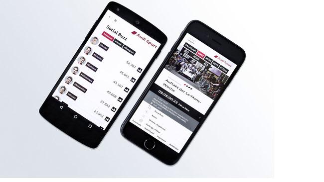 Ecco la nuova Audi Sport App