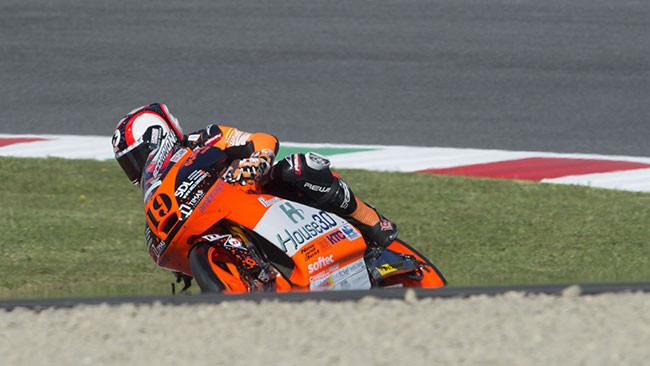 Tonucci cercherà di migliorare nel GP di Catalogna