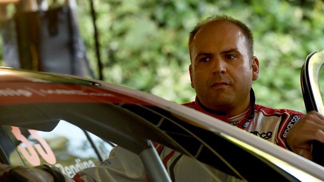 Max Rendina salterà anche il Rally d'Italia
