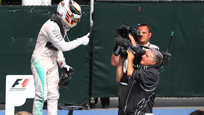"""Hamilton: """"Ho risposto a Nico quando mi attaccava"""""""