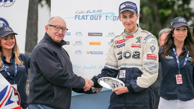 Chris Ingram vince il Colin McRae ERC Flat Out Trophy