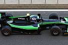 Richie Stanaway in Bahrein con la Status GP