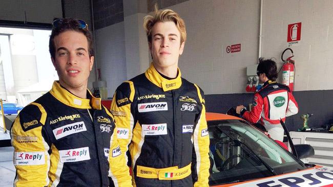 GT Cup: i fratelli Zangari con Ghinzani Arco Motorsport