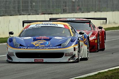 Cordoni al via a Monza con la Ferrari della Ombra
