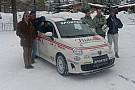 Cinque Abarth 500 al via del Montecarlo