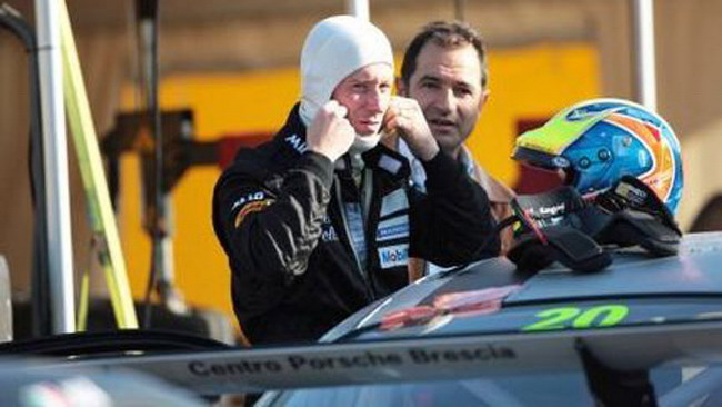 Test a Franciacorta per la Rangoni Motorsport