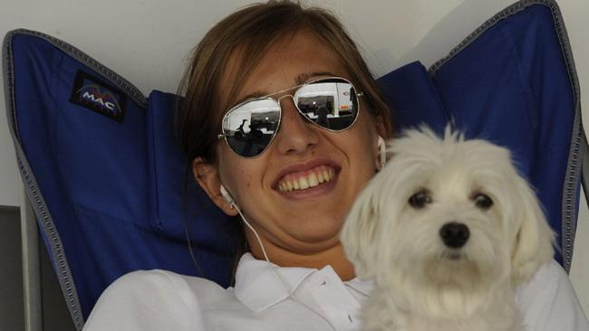 Francesca Linossi torna sulla Ferrari a Vallelunga