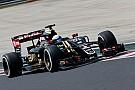 Romain Grosjean en Q3, un