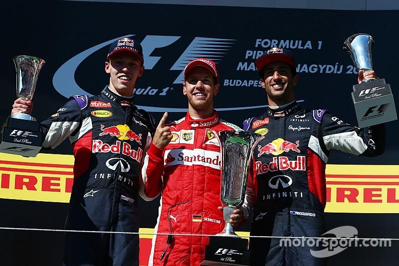 Vettel termina la maldición en Hungría