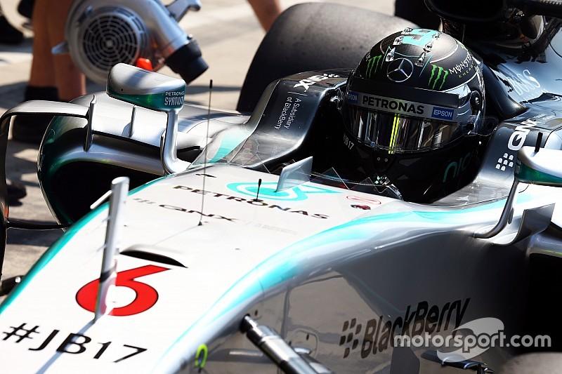Nico Rosberg déçu des points perdus