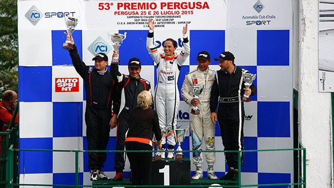 Valentina Albanese vince Gara 2 a Pergusa