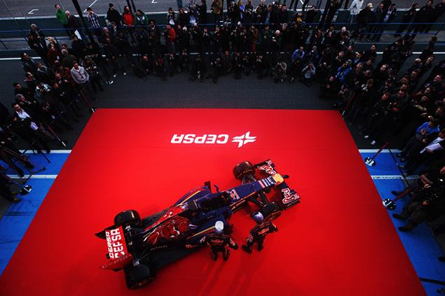 فريق تورو روسو يُطلق سيارته في 31 يناير/كانون الثاني