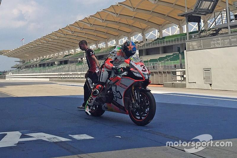 Aprilia correrà a Sepang con tre RSV4 RF