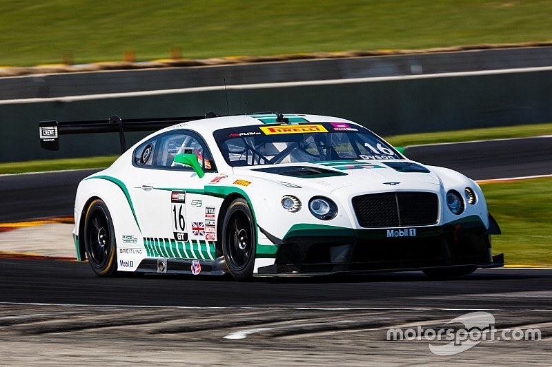 Bentley Team Dyson Racing at Mid-Ohio Pirelli World Challenge