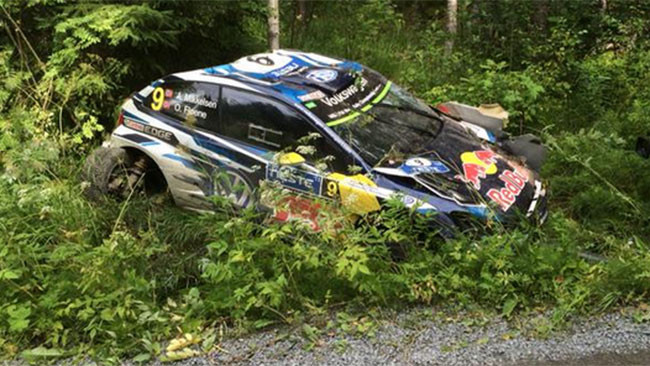 Brutto incidente per Andreas Mikkelsen nella PS5