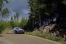 Finlandia, PS18: Latvala prova la fuga, Kubica capotta