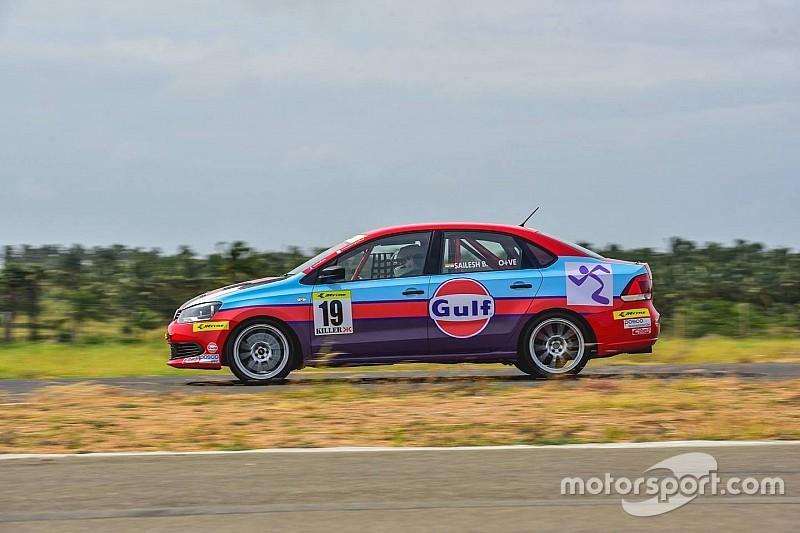 Bolisetti takes first pole of the season
