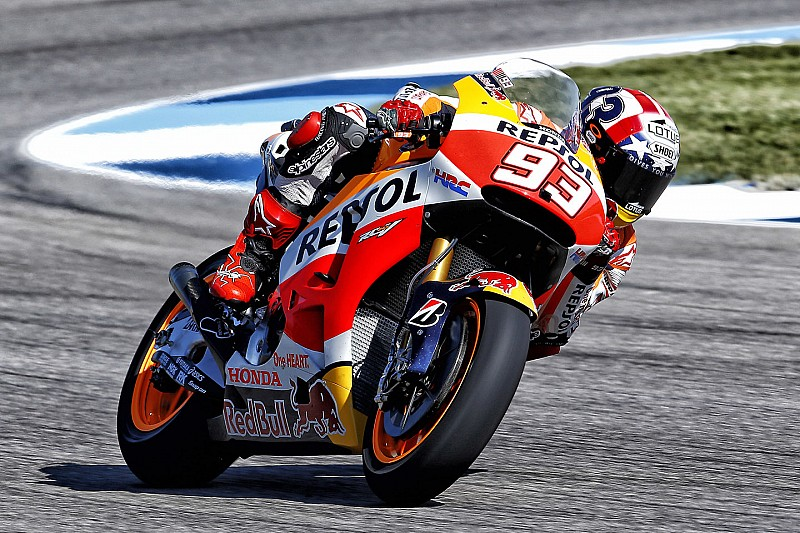 Marquez and Pedrosa complete perfect 1-2 in qualifying for the Indianapolis GP