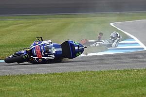 MotoGP Actualités Márquez et Lorenzo ont failli perdre gros en chutant au warm-up