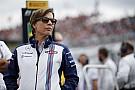 Claire Williams - La place des femmes augmente dans le paddock F1