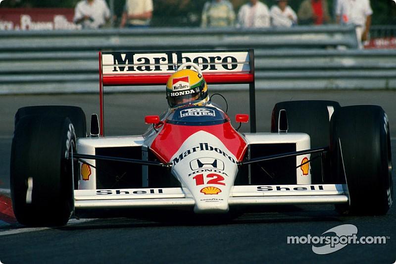 Ayrton Senna features in new Honda advert