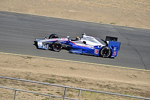 IndyCar Testing report Indy Lights drivers get IndyCar seat time in Sonoma test