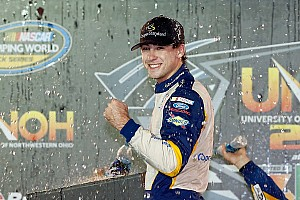 NASCAR Truck Race report Blaney overcomes penalty to claim Bristol win