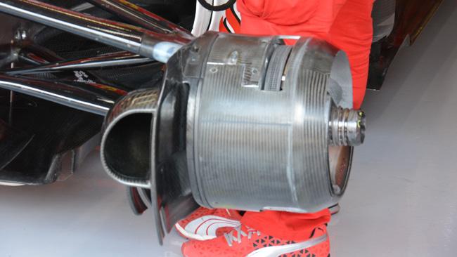 Ferrari: sono stati scelti i cestelli dei freni chiusi