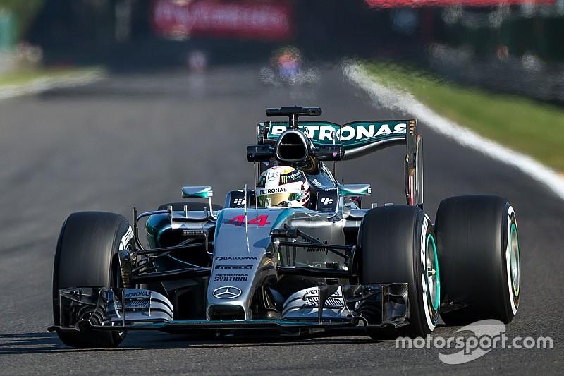 Belgian GP: Hamilton flies in final Spa practice