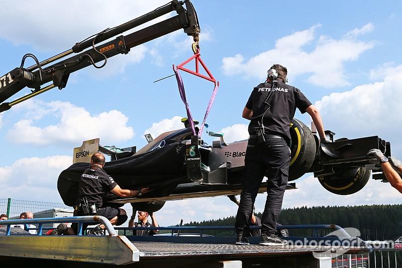 """Pirelli: la falla de Rosberg se debió a una """"fuente externa"""""""