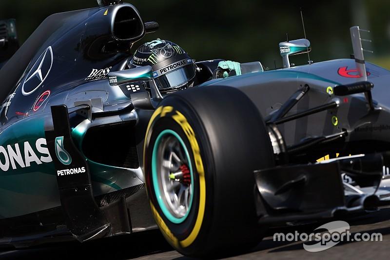 Rosberg deuxième malgré un mauvais départ