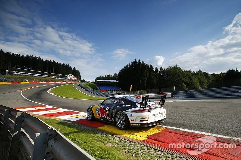 Spa Loeb Peu En R 233 Ussite En Porsche Supercup Motorsport Com